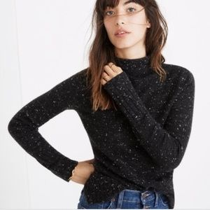 Madewell Inland Donegal Turtleneck Sweater